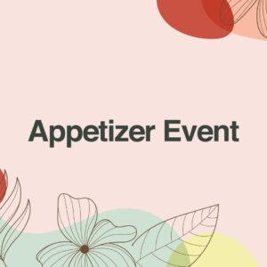 appetizer event